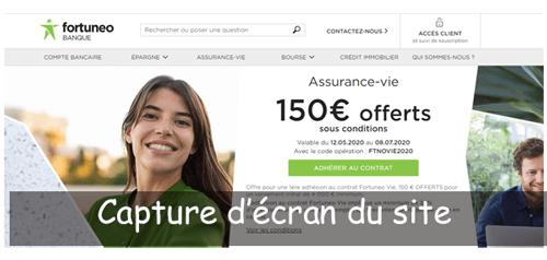 Ouvrir un compte fortuneo en ligne