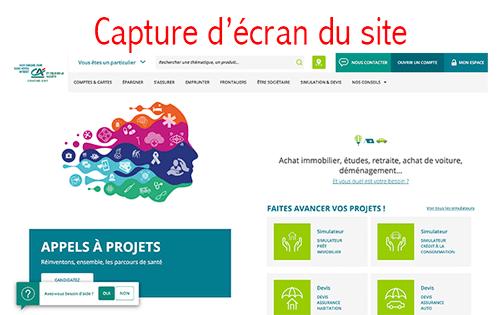 Accéder au compte www.ca-centrest.fr