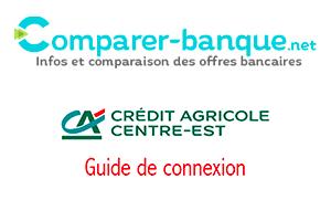 Accès à crédit agricole centre est mes comptes