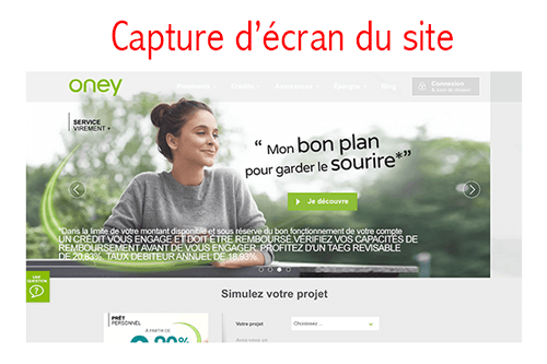Consulter mon compte Oney