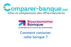 Service client Boursorama banque non surtaxé