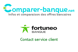 Contacter Fortuneo service client