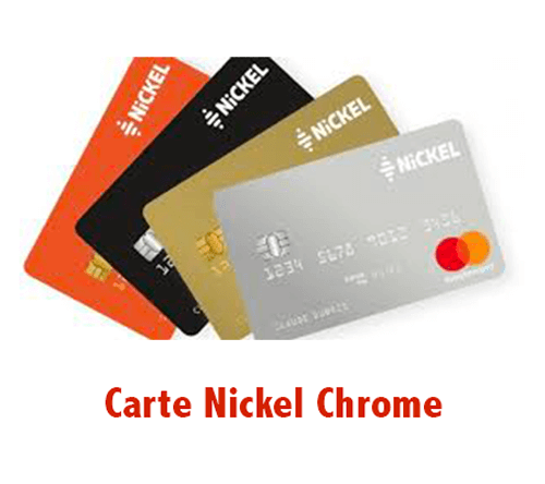 Activer ma carte Nickel Chrome